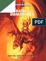 TSR 1082 Wrath of the Immortals