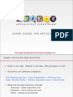 Super-sizing the app economy by extending it beyond the iPhone
