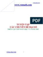 Tuyen Tap Cac Bai Toan Dai So [Thtt]