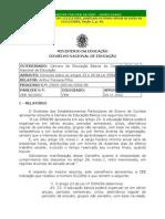 Carga Horária Ensino Médio CEB0038_2002