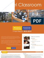 New Learning Institute | Model Classroom Program | 3 Year Report (2010 - 2013)