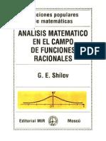 Analisis Mat en Campo de Func Racionales