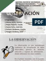 Observación Ex. Final