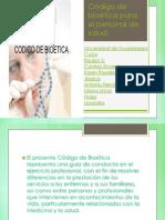 Presentacion Codigo de Bioetica Para El Personal de Salud.