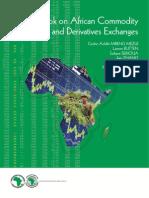 2013 BD SpecialReport AfDBGuidebookonAfricanCommoditiesandDerivativesExchanges 28NOVEMBER 2013