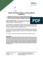 20140915 NP Impuestos a Julio 2014