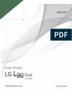 LG L80 Dual - LG L80 Dual User Guide English