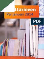 Tarievenkaart Januari 2014 PostNL Tcm210 681029