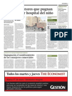 GESTION-7 Postores Pugnan Por Gestionar Hospital Del Niño