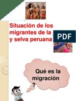 Situación de Los Migrantes de La Sierra Yselva