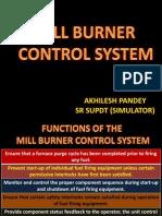 Mill Burner Control