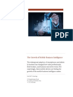 The Growth of Mobile Business Intelligence