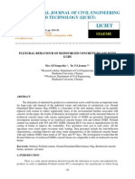 Flexural Behaviour of Reinforced Concrete Beams With Ggbs