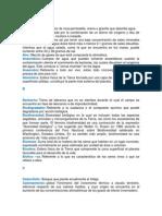 Glosario SEMARNAT