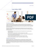 Cisco Business Edition6000 Solutions Overview