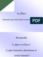 Lectura 2. Clase ,La Ética