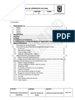 Manual Del Operador Del Bus Zonal