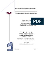 Hidraulica de Rios, Socavacion en Rios, Puentes y Carreteras[1]