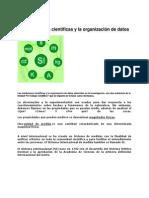 Las Mediciones Científicas y La Organización de Datos