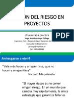 2014-06-10 Gestión Del Riesgo en Proyectos