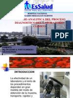 Fase Pre-Analitica Del Proceso Diagnostico Del Laboratorio Clinico