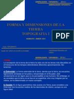 2.- Forma y Dimensiones de La Tierra