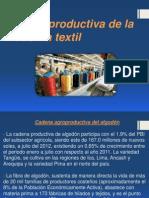 Cadena Productiva de La Industria Textil