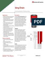 Burst Plug Tubing Drain - Technical Datasheet