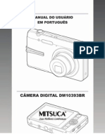 Manual da Camera Mitsuca DM10393Br