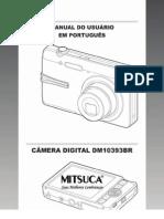 Manual da Camera Mitsuca DM10393Br