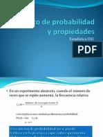 Concepto de Probabilidad y Propiedades