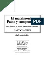 El Matrimonio, Pacto y Compromiso, Guia de Estudio