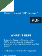 How to Avoid ERP Failure