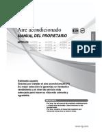 Manual de Usuario LG  AC