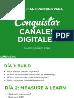 La Guía Lean Branding para Conquistar Canales Digitales