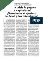 Manifiesto del PO de la provincia de Buenos Aires
