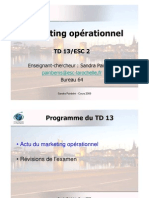 TD13 Mkt Op.