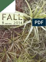 Timber Press Fall 2014 catalog