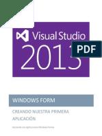 Visual Studio 2013 WIndows Form