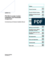FM 350-2 Counter Module Installation and Parameter Assignment Manual en-US