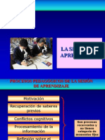 Sesion de Aprendizajeprocesospedaggicos 140319165759 Phpapp02