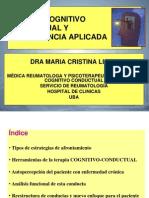 Terapia Cognitivo Conductual y Neurociencia Aplicada 2013 Wp