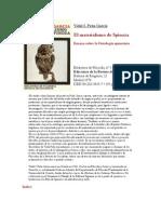 El Materialismo de Spinoza- Vidal Peña