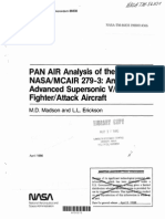 Pan· Air Analysis of the Nasaimcair 279-3