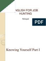 English for Job Hunting 1st Meeting