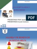Residuos Hospitalarios y Bioseguridad.