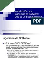 Introduccin a La Ingeniera de Softwarequ Es Un Buen Sistema13