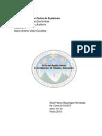 El Rol de Auditor Interno en La Detección de Fraudes y Corrupción