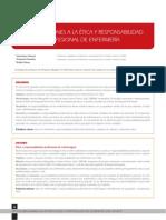 Etica y Responsabilidad Profesional de Enfermeria