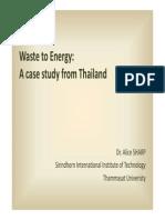 5 WasteToEnergy CaseStudy Thailand